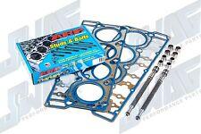 6.0L Powerstroke Diesel Pair of Ford OEM 20MM Head Gasket Kits & ARP Head Studs