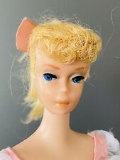 Vintage Barbie 1960's Swirl Ponytail Blonde
