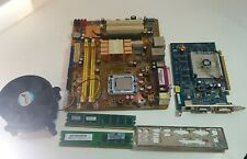 Asus Motherboard Combo Graphics Card, 4GB Ram, I/O, CPU & Cooler