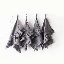 "VINTAGE style HAND MADE LINEN TOWEL 100% linen tea kitchen towel napkin 20x28"""