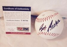 BOB BARKER Signed Baseball TV Legend Price is Right Autograph PSA/DNA COA