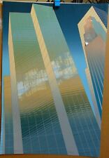 """""""ENFILADE""""- DON MUNZ- ARCHITECTURAL ART- SIGNED & TITLED SERIGRAPH - GEOMETRIC"""
