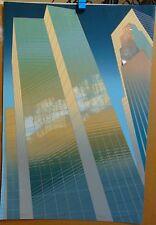 "DON MUNZ - ""ENFILADE"" - ARCHITECTURAL ART - SIGNED & TITLED SERIGRAPH"