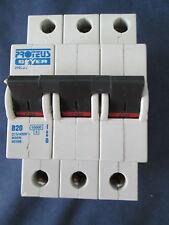PROTEUS 31020/2 B20 Amp 10000 TP MCB Interruttore Automatico