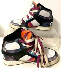 Osiris Youth Multicolored Skateboarding Shoes Size 6.5 (NYC 83)