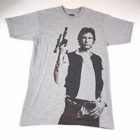 Star Wars Han Solo Graphic T-Shirt White Size M Medium #219