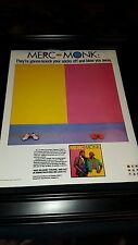 Merc And Monk Baby Face Rare Original Promo Poster Ad Framed!