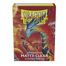 Dragon Shield Japanese Size Matte Hüllen (60) Clear Outer Sleeves Doublesleeving
