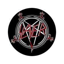 Slayer Pentagram Round Back Patch couser sur le badge officiel rock rock heavy m