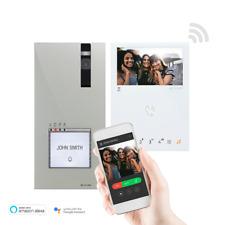 Comelit Tür Video-Gegensprechanlage Kit Einfamilienhaus 1-4 Wohneinh.WiFi 8451V