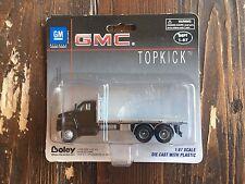 Boley 1:87 HO GMC TopKick Flatbed Truck Black Item #3004-36