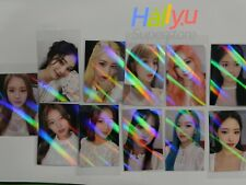 "Loona ""12:00"" 3rd Mini  - Withdrama hologram Pre-order Photocard"