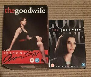 DVD The Good Wife The Complete Series seasons 1 - 6 and 7