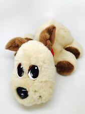 Big! Pound Puppies Soft Plush Toy Mattel 2004 Talking Battery Operated Dog Brown