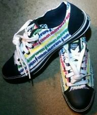 Women Vintage Gwen Stefani Lamb Harajuku Lovers Logo Sneakers Tennis Shoes Sz 10
