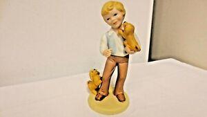 "1981 Avon Best Friends Marked  6"" Hand Crafted Porcelain Figurine-Matte finish"