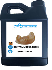 ALPHASENSE 3D DENTAL MODEL RESIN (500 ML)