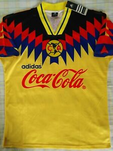 Club America Mexico Cuauhtemoc Blanco 1995 96 shirt remake Retro Jersey camiseta