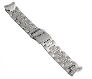 Aqua Master 22mm Stainless Steel Men's Watch Bracelet