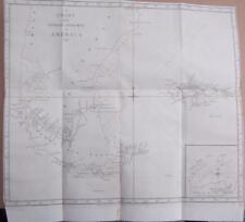 Captain Cook's Voyage  1772/75,  Map / Chart  Southern Extremity Of America