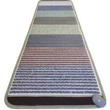 "GemsMat Amethyst 8 Multi Stones Heating Therapy Mat 72""L x 24""W FAR Infrared Pad"