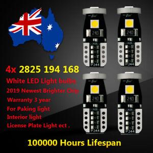 4x T10 LED white Parker Parking Light For Holden Commodore VE SS SSV SV6 VX VF T