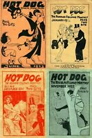 12 OLD ISSUES OF HOT DOG - HUMOR LAUGHTER NAUGHTY FUNNY JOKE MAGAZINE ON DVD
