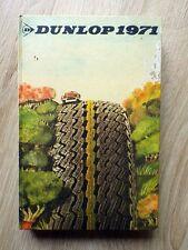 AGENDA PNEUS DUNLOP ANNEE 1971 Sans ecriture