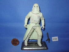 Star Wars 2003 SNOWTROOPER THE BATTLE of HOTH w/Stand 3.75 inch Figure COMPLETE