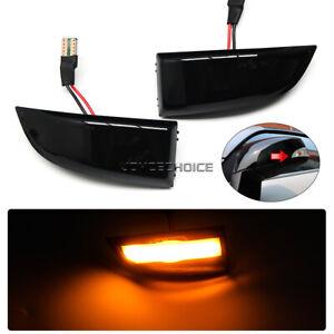 For Renault Megane MK3 Laguna III X91 Scenic Fluence LED Dynamic Mirror Light