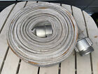 Fire Hose NFPA 250 PSI 1962 Never Used Shows Some Storage Wear Near 50 Feet Long