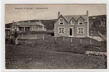 BUNGALOW & DUNRIGH, BLACKWATERFOOT: Isle of Arran postcard (C9182)
