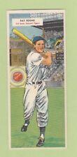 1955 Topps Double Header Ray Boone Front #113/#114 Bob Purkey Back