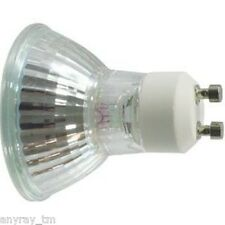 Anyray® 1-Bulb A1822Y 50W GU10 +C 50 Watt Back Light Bulb Halogen MR16 120 Volts