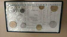 1974 Monnaie De Paris - Fluers De Coins - Incomplete Set, Missing Centre Coin