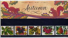 GB 1993 THE FOUR SEASONS AUTUMN FRUITS and LEAVES PRESENTATION PACK No.240