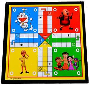 Honeybun Ludo & Snakes and Ladders 2 in 1 Board Games Strategy Family-ofM