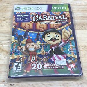 Xbox 360 - Carnival Games: Monkey See, Monkey Do Microsoft Xbox 360 Brand New