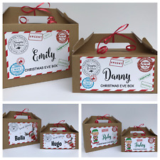 Personalised Christmas Eve Gift Box | Xmas Favour  | Secret Santa | Present Brw