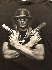 Kid Rock Desert Eagle Guns Crossed MFQLM 2011 Born Free Tour Shirt Trump MAGA