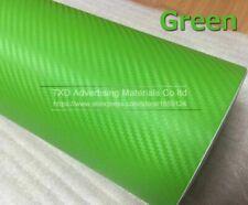 3d Carbon Fiber Vinyl Car Sticker Stylish Wrapping Foil Auto Decoration Film New