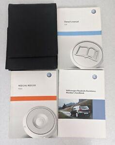 GENUINE VW GOLF VI MK6 HANDBOOK OWNERS MANUAL 2008-2012 WALLET PACK P-222