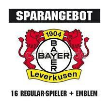 Match Attax 12/13 - 15 Basecards + Top Tansfer + Wappen Bayer 04 Leverkusen