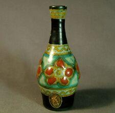 Lovely Gouda PZH hand painted Miniature bottle vase - circa 1927