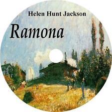 Ramona, a Helen Hunt Jackson unabridged English Literature Audiobook on 1 MP3 CD