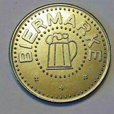 Biermarke, Turnerschaft Alemano Palatia  Beer Token / Jeton, Wertmarke