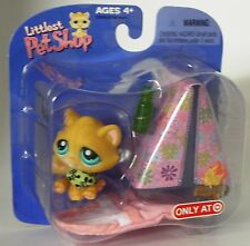 Littlest Pet Shop Target exclusive camping kitty with tent  new in package