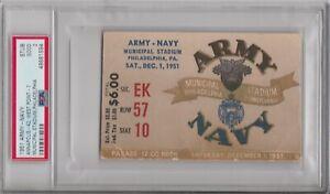 1951 Army Navy Football Ticket Stub PSA 2 - Pop 1 Highest Grade