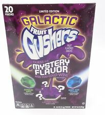 Limited Edition Galactic Fruit Gushers Guess the Mystery Flavor, 20 Pouches