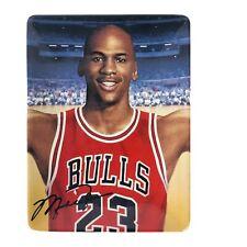 "Michael Jordan ""In Flight"" Plate 3 Of Upper Deck Soaring Above The Rest  w/ COA"
